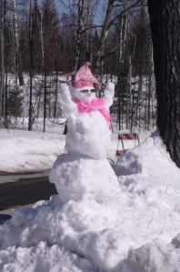 Snowman Mush for a Cure