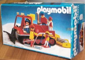 Playmobil pisten bully