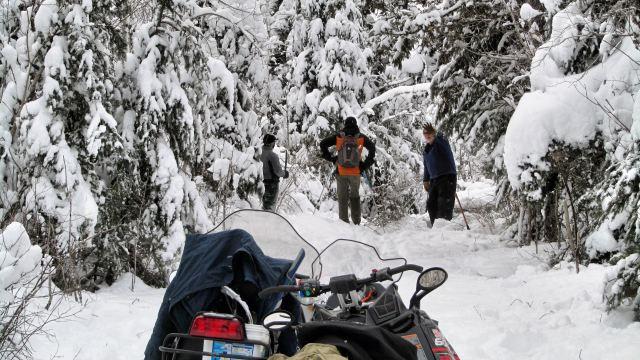 12.30.2016 bend down on Old Logging Camp Jim Pohle