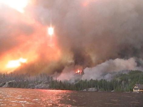 ham lake fire